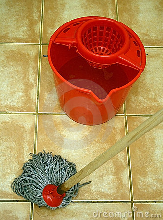 Mop and bucket