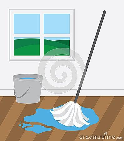 Mop Wooden Floor