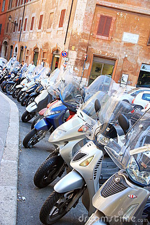 Mopeds Editorial Stock Photo