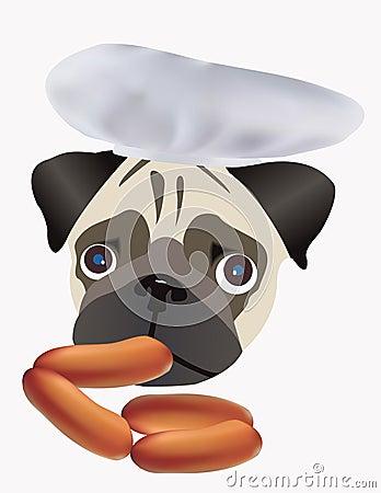 Mops, eat wieners