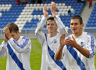 Moravian-Silesian League, team Frydek-Mistek Editorial Stock Image