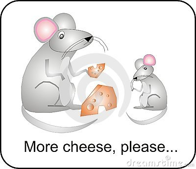 More Cheese..Please