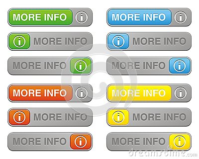 More info button sets