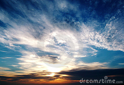Morecambe Bay Sunset
