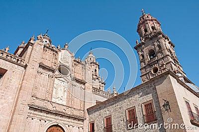 Morelia Cathedral, Michoacan (Mexico)