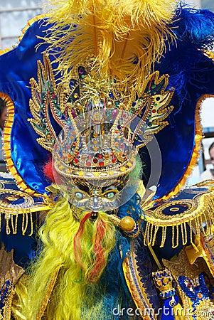 A Moreno Dancer in Oruro Carnival