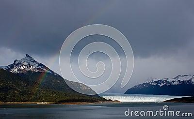 Moreno Glacier Rainbow