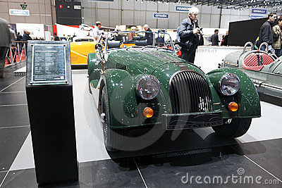 Morgan 4/4 75th Anniversary Editorial Stock Image