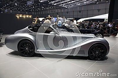 Morgan Aero Max at Geneva Motor Show 2011 Editorial Stock Photo