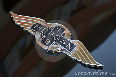 Morgan Cars Logo Editorial Image