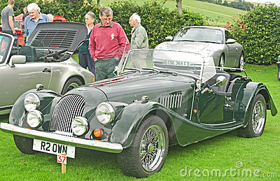 Morgan Classic Sports car. Editorial Photography