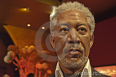Morgan Freeman Editorial Stock Photo