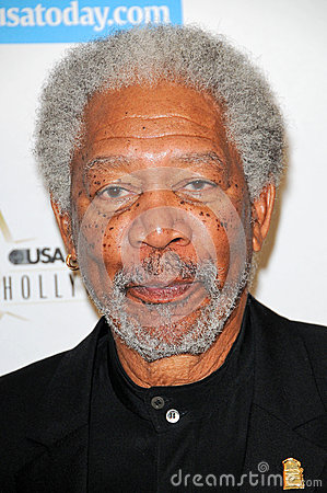 Morgan Freeman Editorial Stock Image