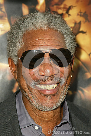 Morgan Freeman Editorial Photo