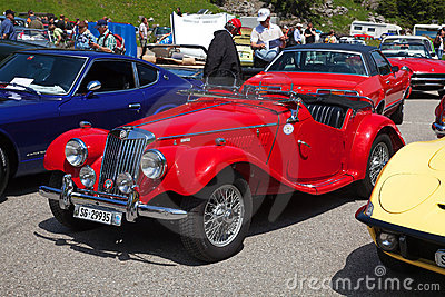 Morgan MG Plus Four Editorial Stock Image
