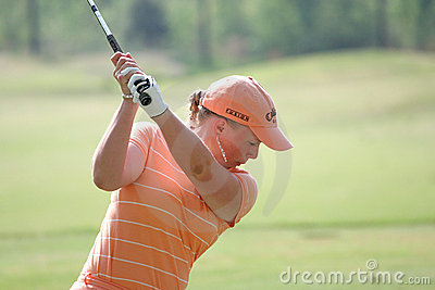 Morgan Pressel, LPGA golf Tour, Stockbridge, 2006 Editorial Stock Photo