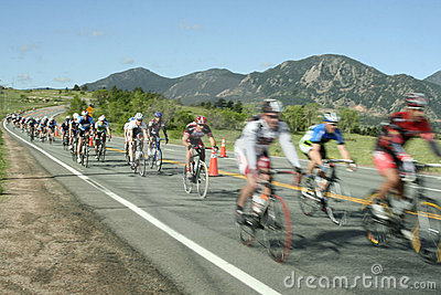 The Morgul-Bismarck Circuit Road Race Editorial Stock Image