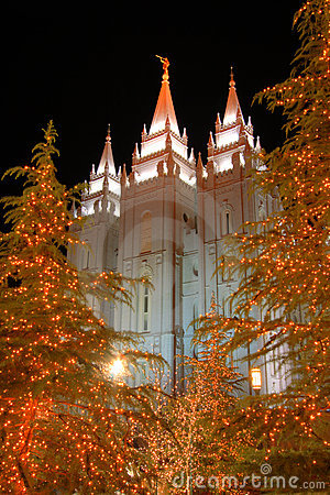 Free Mormon Temple Salt Lake City Royalty Free Stock Photography - 1576457