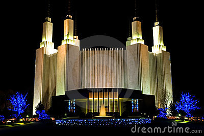 Mormon Temple - Washington DC - 2