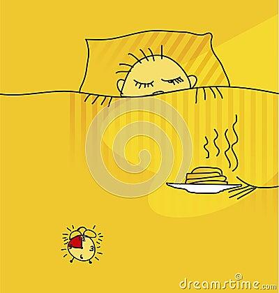 Morning awake