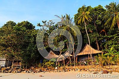 Morning beach in Thailand