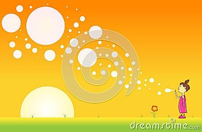 Morning Bubble