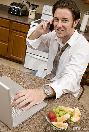 Free Morning Conference Call Stock Photo - 10175320