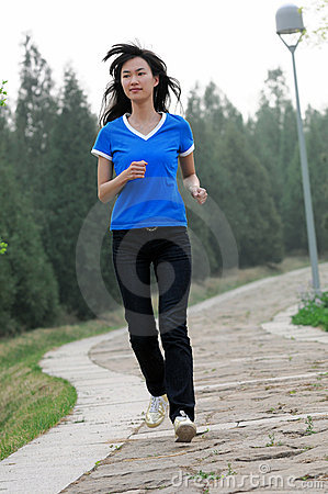Free Morning Exercise * Royalty Free Stock Image - 8979026