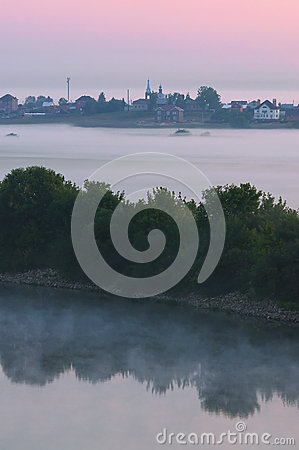Free Morning Fog Royalty Free Stock Image - 61196716