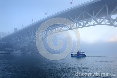 Morning Fog, False Creek, Vancouver