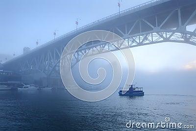 Morning Fog, False Creek, Vancouver