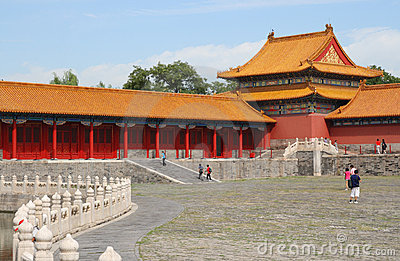 Morning in Forbidden city 4