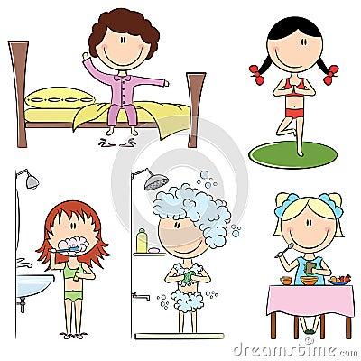 Daily Morning Girls Life