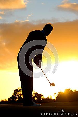 Morning golf