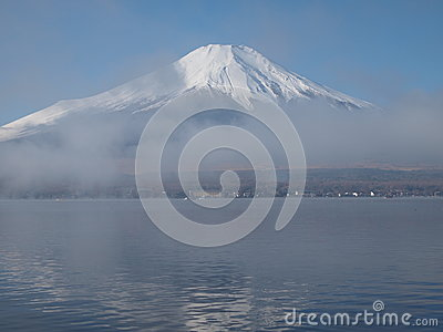 Morning haze and Mount Fuji