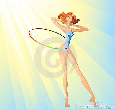 Morning hula-hoop