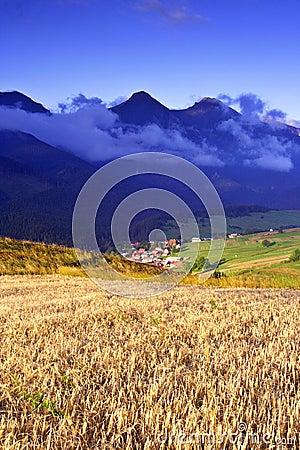 Free Morning In High Tatras (Vysoké Tatry) Royalty Free Stock Photo - 1218215