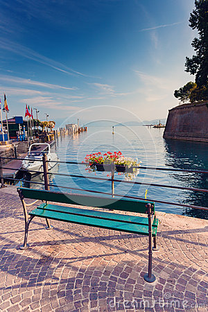 Free Morning In Peschiera Del Garda Royalty Free Stock Images - 67804849