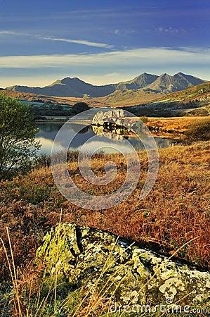 Free Morning Light, Snowdon Range, Wales Stock Image - 26161841