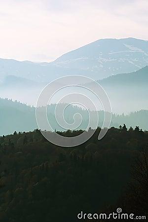 Free Morning Mountain Stock Images - 5423844