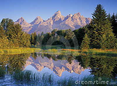 Morning Mountain Reflections