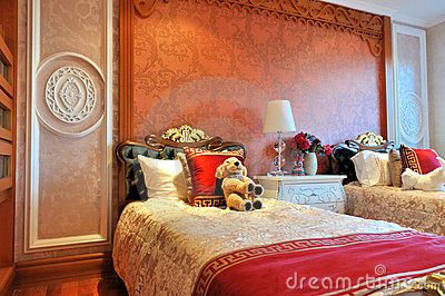 Morning of neat children s bedroom