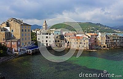 Morning pastels, St. Florent, Corsica