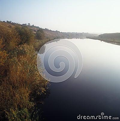 Morning river.