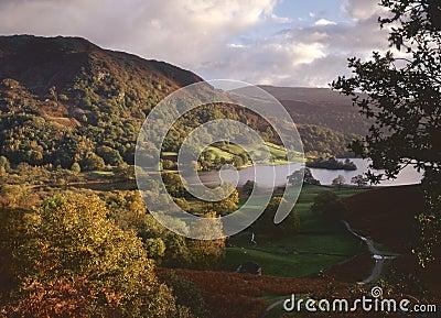 Morning light, Rydal water, Cumbria