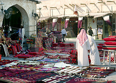 Morning in Souq Waqif, Qatar