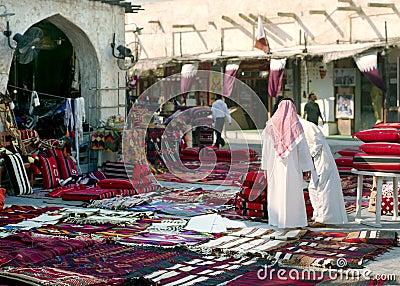 Morning in Souq Waqif, Qatar