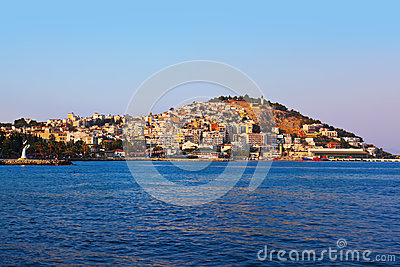 Morning view of Kusadasi Turkey