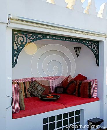 Moroccan Alcove