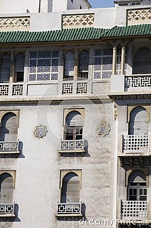 moroccan architecture hotel casablanca morocco